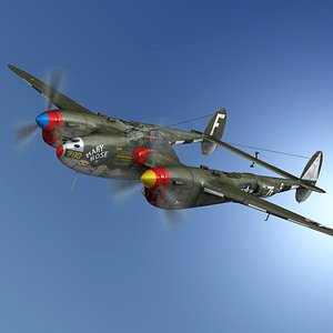 lockheed lightning - mary 3D