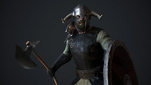 3D Viking Hevding model