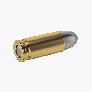 3D bullet 9x19mm model
