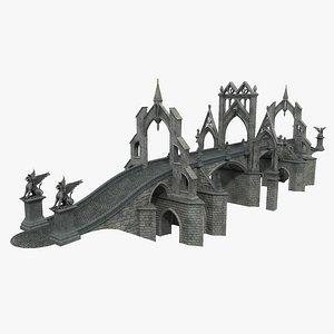 3D Gothic Bridge 02