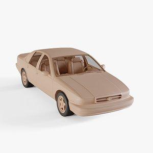 3D chevrolet impala ss model