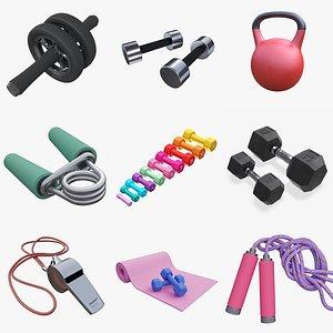 Sports equipment vol. 3 3D model