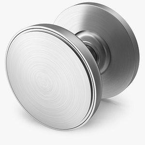 door knob steel 3D