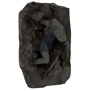 Corpse 02 3D model