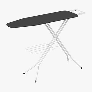 realistic ironing board 3D model