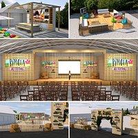 Outdoor Event Exhibition Area