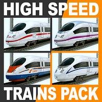 High Speed Train Pack - Siemens Velaro