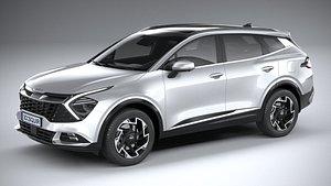Kia Sportage v2 2022 3D model