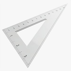 3D square ruler tool