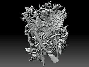 reliefs cnc 3D