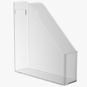 File Organizer Plastic Transparent 3D