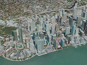 3D miami city model