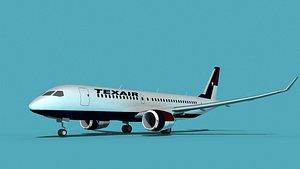 3D Bombardier CS100 Texair