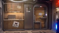 sci fi shatle rooms and textures