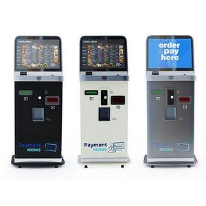 3D kiosk payment