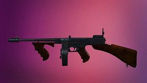 weapon unreal unity 3D model