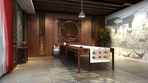 3D asian chinese design