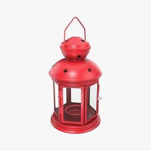 Christmas lantern 3D model