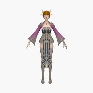 woman princess model