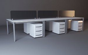 3D work workstation