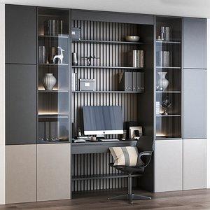 Furniture composition 7 3D model