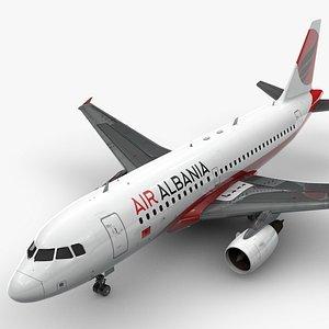 AirbusA319-100AIR ALBANIAL1434 3D model