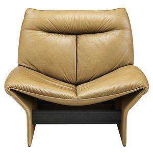 mid-century rondine lounge chair 3D model