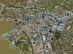 canberra city model