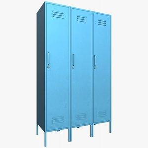 Lockers v6 With PBR 4K 8K model