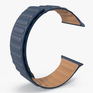 Apple Watch Leather Band 3D model