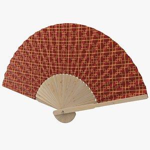 3D Hand Fan