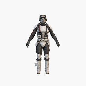3D Scout Trooper