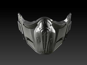 Subzero Mask 3D Print Model 3D