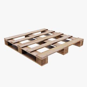 Wood Pallet V1 3D