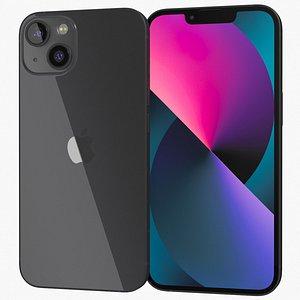 Apple iPhone 13 Black 3D model