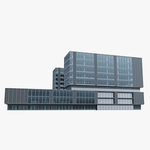 Modern Building 121 3D model