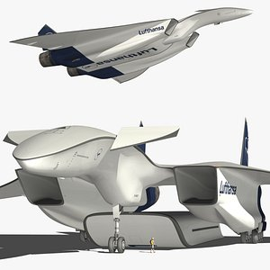 DRAKO Lufthansa 3D model
