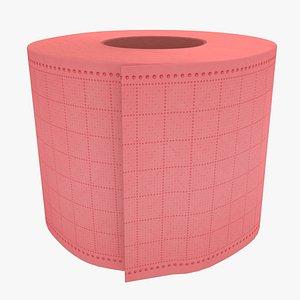3D Toilet Paper 05 model