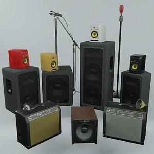 speaker set model
