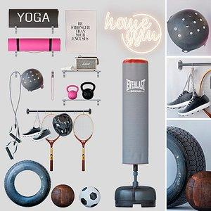 Home gym model