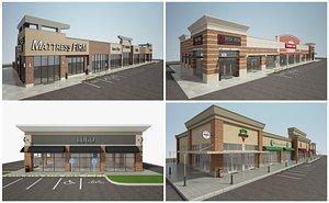 3D building retail