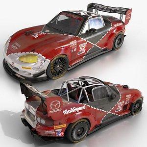 MX-5 NBFL Miata Super GT 3D model