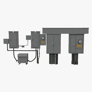 3D model Multi Wall Box