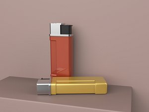 3D Exquisite high-end lighter Igniter Flint gas machine Anti-fan Fire taker Lighter completely disassem
