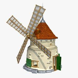 3D Wind mill model