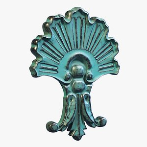 3D Ornamental Cartouche model