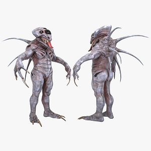 alien monster creature animal beast model