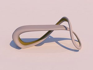 3D sci-fi outdoor model