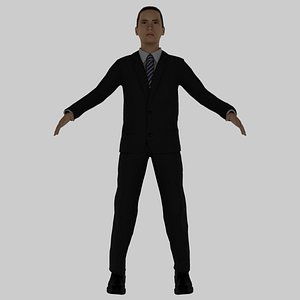 15 Years Old Rigged Boy model