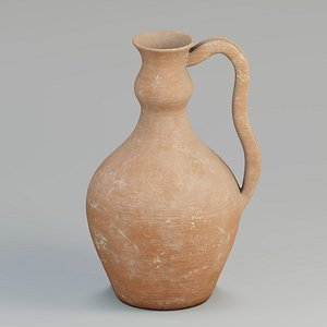 3D jug antique cla